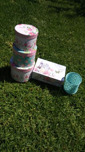 Flower boxes/ Paris/ gift boxes for Sale in Ontario, CA
