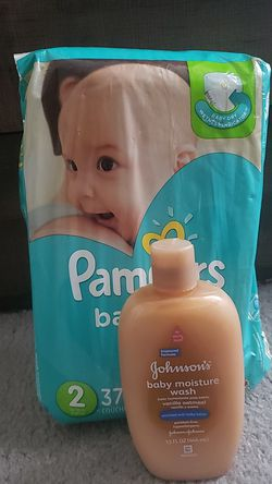Pampers size 2 & Body Wash for Sale in Concord,  NC