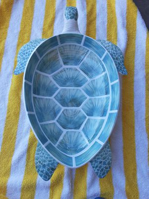 Turtle bowl big color beautiful pearl real new for Sale in Phillips Ranch, CA