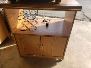 Microwave cart for Sale in Fresno, CA