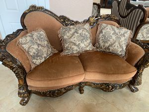 3 loveseat sofas and 1 chair for Sale in El Cajon, CA