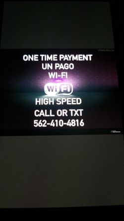 Super high speed. In great excellent condition like new Modem with Internet and Router for wifi open box in great condition Wi-fi for Sale in Santa Ana,  CA