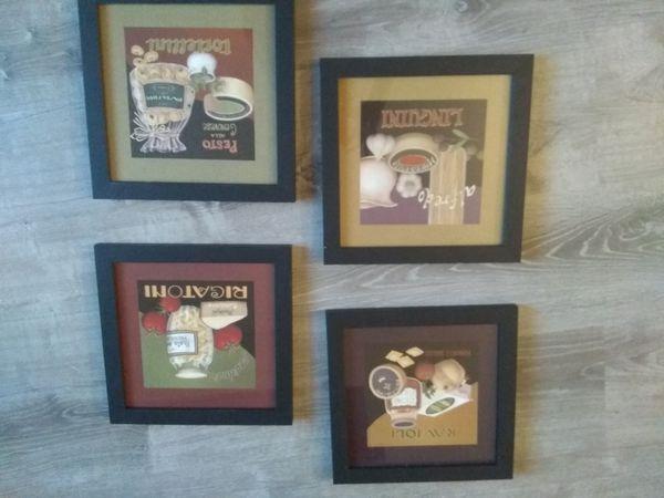 Home Interior Kitchen Wall Art