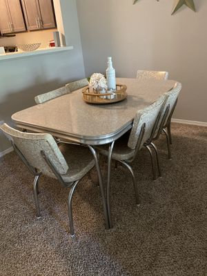 Vintage Marble Dining Table for Sale in Raleigh, NC