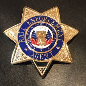 Blackinton Bail Enforcement Agent Badge for Sale in Snohomish, WA