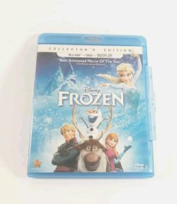 Frozen (Blu-ray Disc, 2014, 2-Disc Set, Collector's Edition💥 READ DESCRIPTION💥 for Sale in Los Angeles,  CA