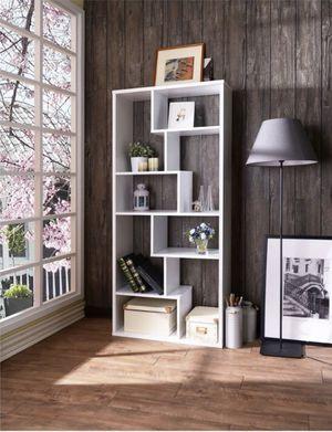 """2 Decorative Bookshelves 71"""" White for Sale in Houston, TX"""