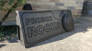 Pro Box Rocks with JL Audio Sub for Sale in Spring, TX