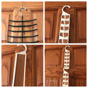 Jewelry Ties or belts! Closet organizers (2 with cedar). All 4 are $4 for Sale in Rapid City, SD