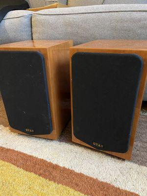 Quad 11L bookshelf speakers for Sale in Lynnwood, WA