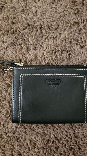 COACH BLACK LEATHER for Sale in San Diego, CA