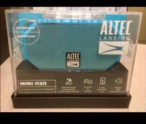 Altec lansing mini H2O Bluetooth speaker brand new and sealed for Sale in Westerville, OH