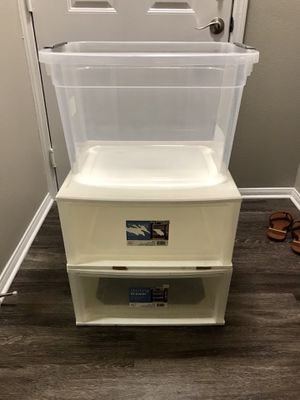 Plastic storage containers for Sale in San Diego, CA