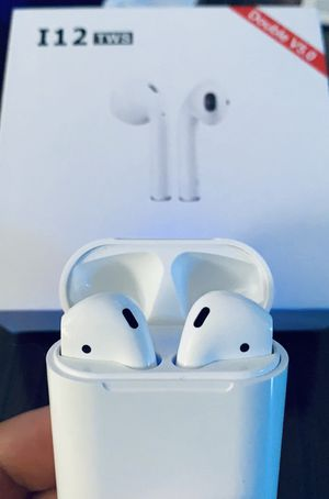 I12 TWS Bluetooth Airpod Headphones for Sale in Pittsburgh, PA