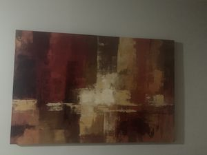 Decorative artwork $25 big picture for wall for Sale in East Hartford, CT