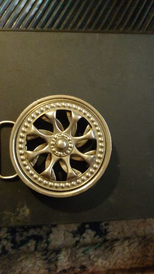 More sturdy Spinner Rim belt buckle for Sale in Portland, OR