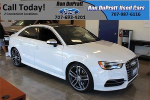 2016 Audi S3 for Sale in Vacaville, CA