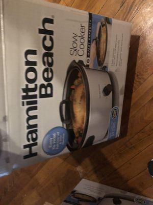 NEW crock pot (Hamilton Beach) 6 QUART for Sale in York, PA
