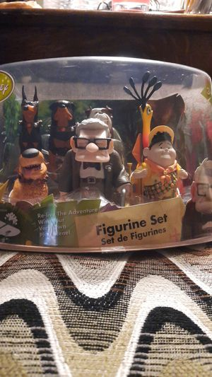 Disney's Up Figurine Set for Sale in Rancho Cucamonga, CA