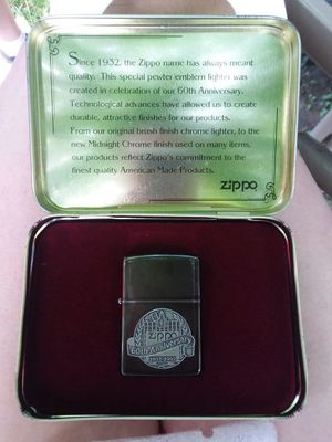 Zippo 60th anniversary lighter for Sale in Columbus, OH