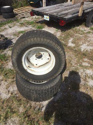 ((Rear Wheels)) craftsman riding lawn mower for Sale in Lakeland, FL