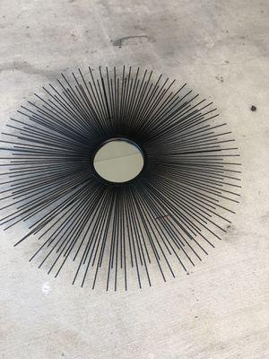 Beautiful Rod iron sunburst mirrors for Sale in Katy, TX
