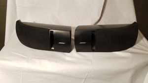 Pair of Bose 161 speakers black excellent condition for Sale in Kennesaw, GA