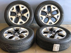 """18"""" JEEP COMPASS WHEELS RIMS TIRES FACTORY OEM SET 4 for Sale in Roseville, MI"""