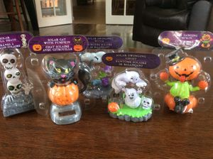 Brand new solar Halloween characters. Set of five all different. for Sale in Jupiter, FL