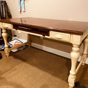 Large, Solid Desk With Great Legs for Sale in Seattle, WA
