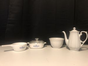 Corningware Dish set and Teapot for Sale in Spring Hill, FL