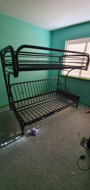 Bunk bed twin over full for Sale in Schaumburg, IL