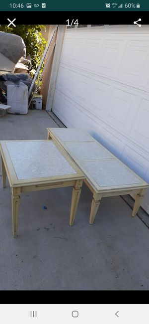 Antique coffee table and end table for Sale in Winchester, CA
