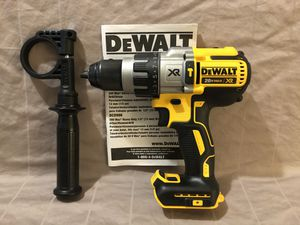 Brand new never used Dewalt XR 20V brushless 3 speed hammer drill. Tool only for Sale in Vacaville, CA