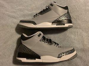 "Jordan Retro 3 ""Wolf Grey"" Mens SZ 11 for Sale in Boston, MA"