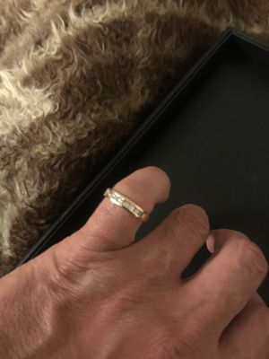 Genuine diamond band. for Sale in Los Angeles, CA