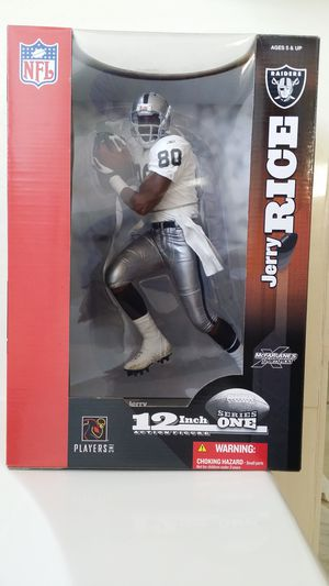 Jerry Rice #80 Oakland Raiders 12-inch action figure for Sale in Chandler, AZ