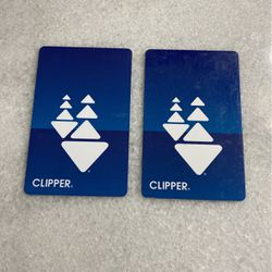 2x Clipper Cards (~$300) for Sale in Mountain View,  CA