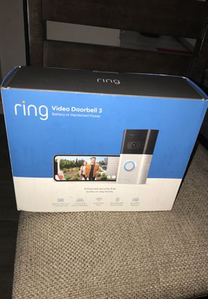 ring VIDEO DOORBELL 3 for Sale in Los Angeles, CA
