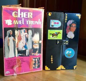 Vintage Cher Travel Trunk with original box for Sale in Steilacoom, WA
