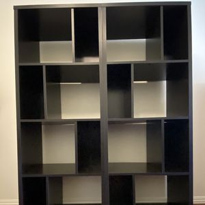 Bookshelves Dark Brown Set Of Two for Sale in Tujunga, CA