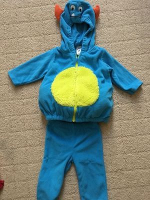 Baby monster Halloween Costume (Carter's 3-6 months) for Sale in Los Angeles, CA