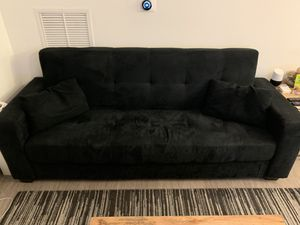 Target Sleeper Futon (Lifestyle Solutions Lexington Sofa Bed - Black) for Sale in Boston, MA