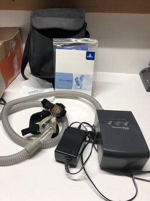 Respironics REMstar Plus M series with cflex Cpap machine.. Works great.. Low hours.. for Sale in Corona, CA