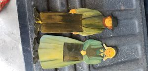Wood amish handpainted figures for Sale in Hutchinson, KS