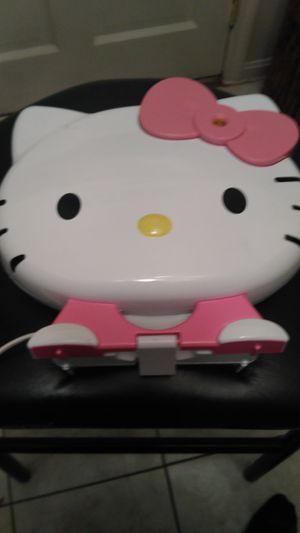 HELLO KITTY Pancake MAKER### FREE HELLO KITTY PLUSH ANIMAL++++ for Sale in Decatur, GA