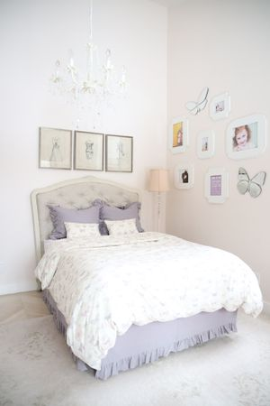 Bed Frame, Desk, And Night Stand For Young Girl for Sale in Holladay, UT