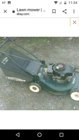 I can diagnose and fix push mowers and other small engine items unless deemed unrepairable for Sale in Hannibal, MO