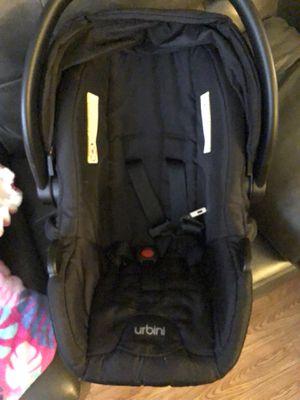 Urbini Omni plus 3 in 1 travel system black for Sale in Chicago, IL