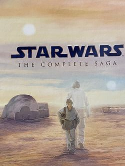 Star Wars Collection Episodes 1-6 With 3 Bonus Disks for Sale in Houston,  TX